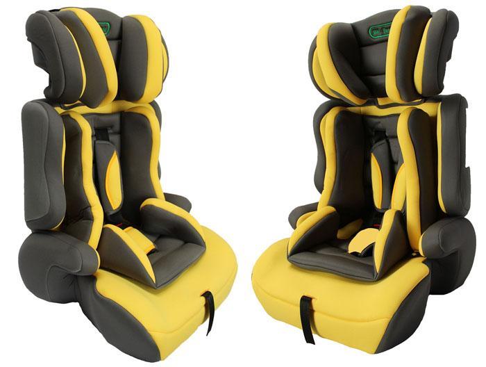 autokindersitz f r kinder von 9 36 kg norm ece r44 04 gruppe 1 2 3 graphit gelb ebay. Black Bedroom Furniture Sets. Home Design Ideas