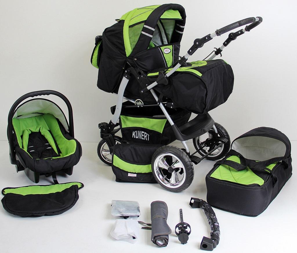 volver kombikinderwagen als set 3in1 mit babyschale babywagen sofort lieferbar ebay. Black Bedroom Furniture Sets. Home Design Ideas