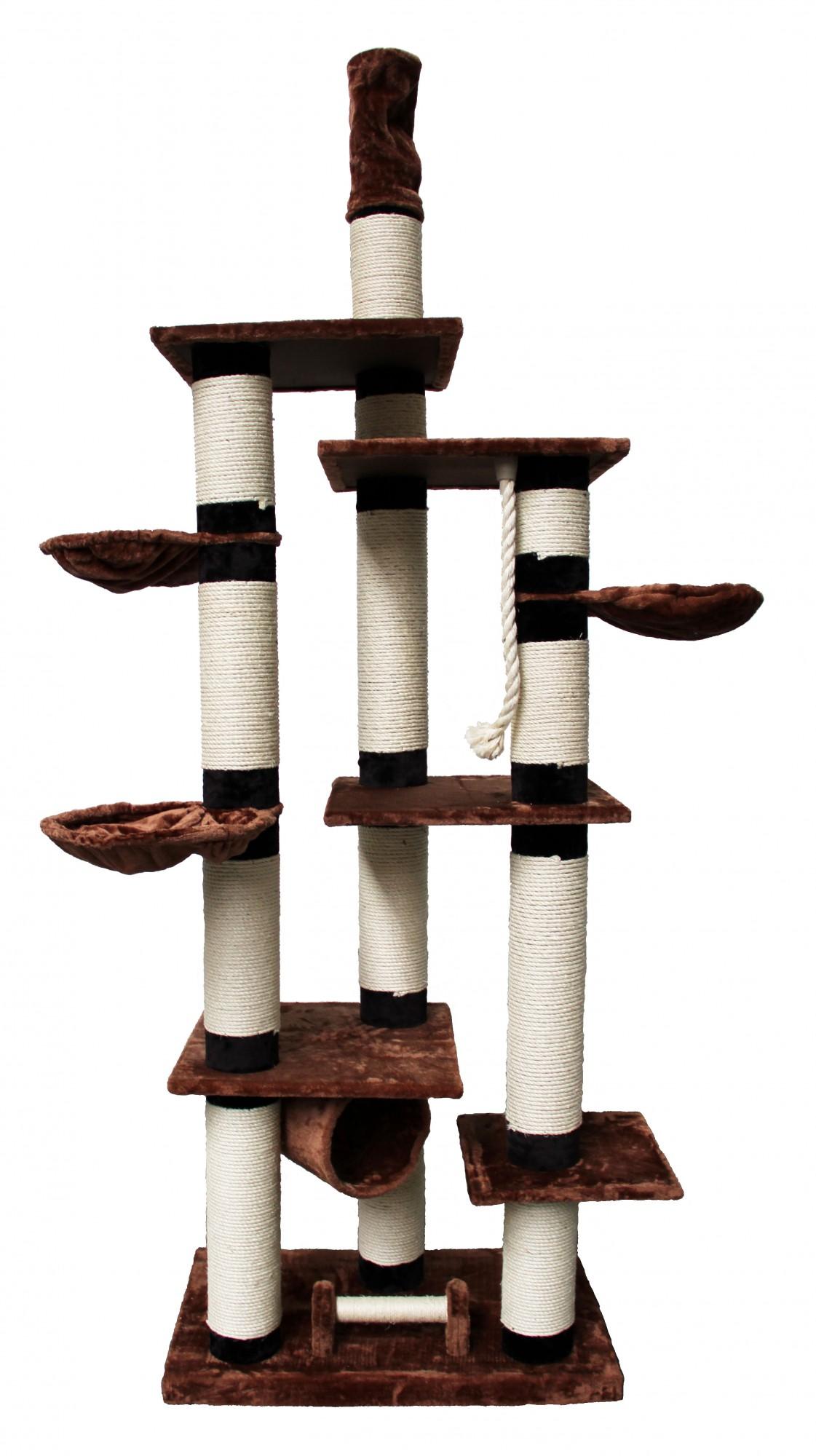 katzenbaum atlantis deckenhoch ca 14cm s ulen mit sisalseil kratzbaum katze neu ebay. Black Bedroom Furniture Sets. Home Design Ideas