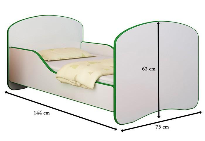 babybett kinderbett jugendbett matratze lattenrost neu 140x70 oder 160x80 alles f r 39 s kind. Black Bedroom Furniture Sets. Home Design Ideas