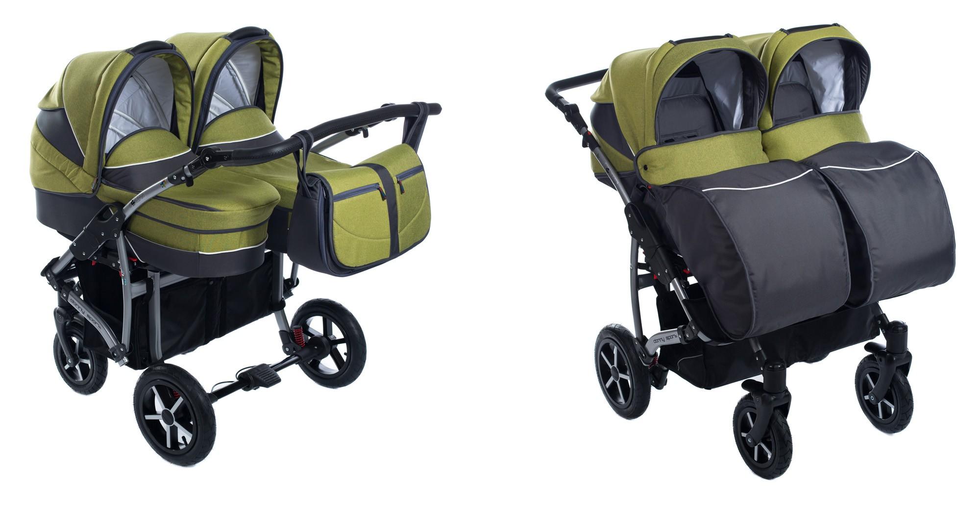 3in1 kombi zwillingskinderwagen 2x babywanne buggy. Black Bedroom Furniture Sets. Home Design Ideas