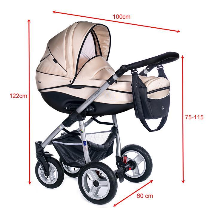 kinderwagen babyboat 3in1 babyschale isofix geeignet. Black Bedroom Furniture Sets. Home Design Ideas